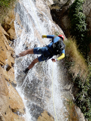Canyoning - Klettern